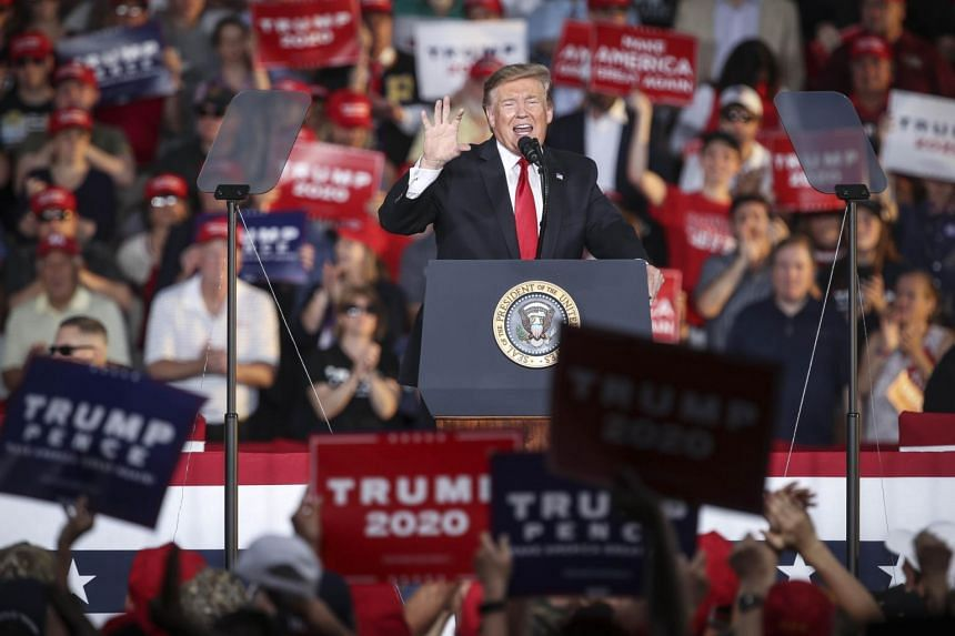 US president Donald Trump told his supporters in Pennsylvania on May 20 that his trade war had strengthened their state's steel industry and jobs.
