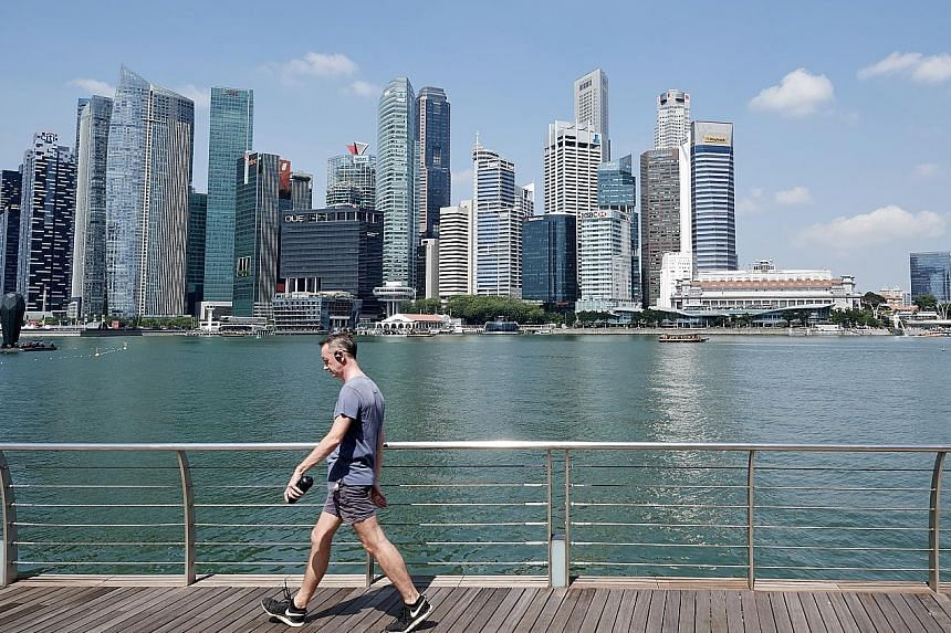 Singapore escaped the downtrend that caught out every other major commercial property market in the region in the first quarter.