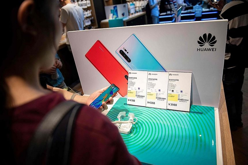 """Huawei had earlier reacted to Google's decision to stop allowing updates to the Chinese company's Android phones by saying it had """"made substantial contributions to the development and growth of Android around the world""""."""