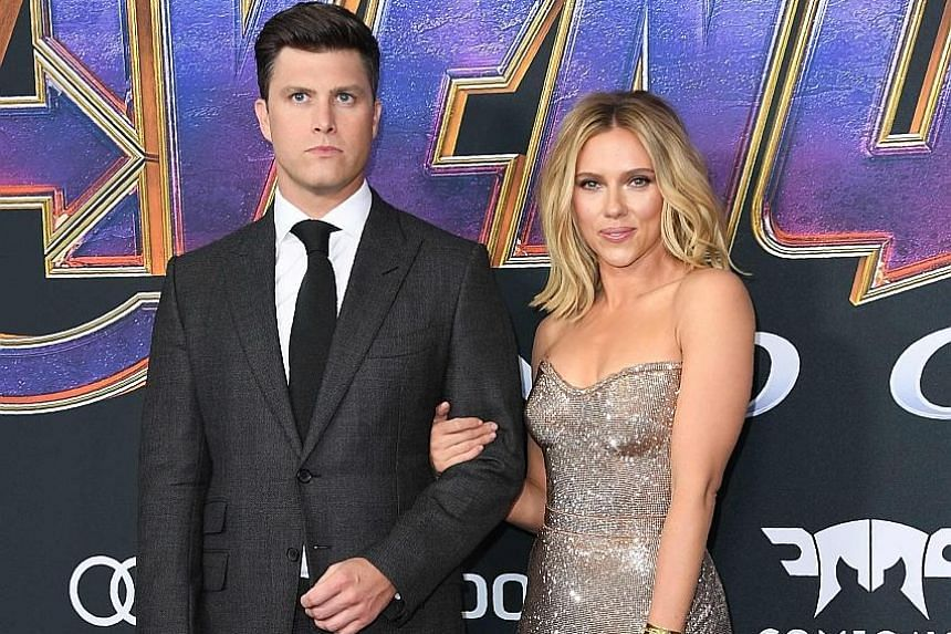Scarlett Johansson and Colin Jost have been dating for two years.