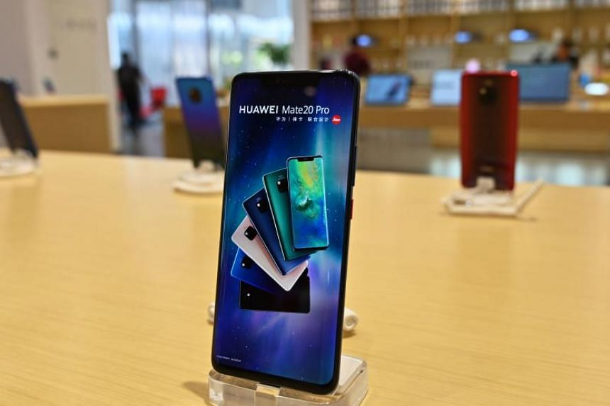 "Huawei was cut off from using Google's popular Android system after being placed on a US banned ""entity list"" last week."