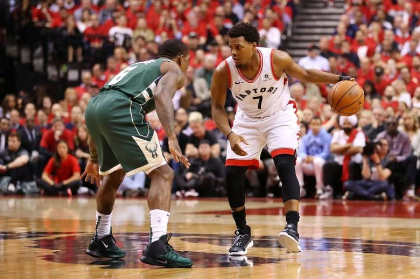 Kyle Lowry led the Toronto Raptors with 25 points as they followed up their double-overtime triumph in Game 3 with a second straight home win.