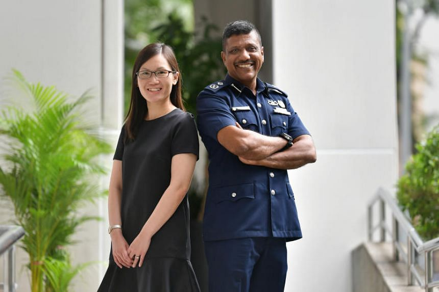 Senior Assistant Commissioner of Police Arul David Scott and Ms Sylvia Liaw, assistant director (Data Science and AI-Ops Capabilities) at the Science and Technology Group at MHA, were among the officers promoted on May 22, 2019.