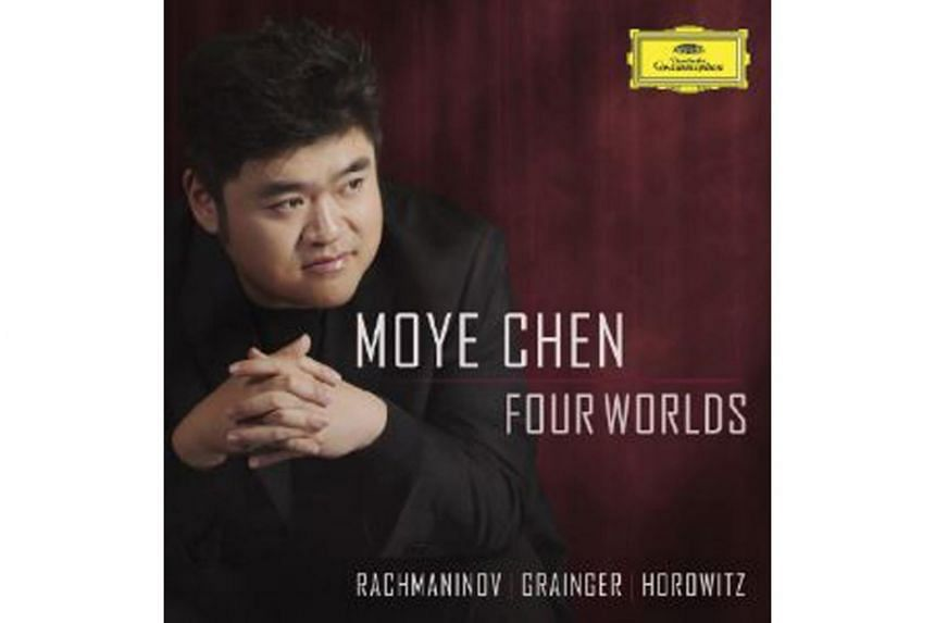 Four Worlds is Moye Chen's debut disc after winning 3rd prize at the 2016 Sydney International Piano Competition.