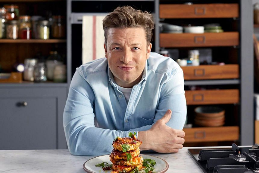 British chef Jamie Oliver found fame as a TV chef, starring in shows such as Jamie's Quick And Easy Food.