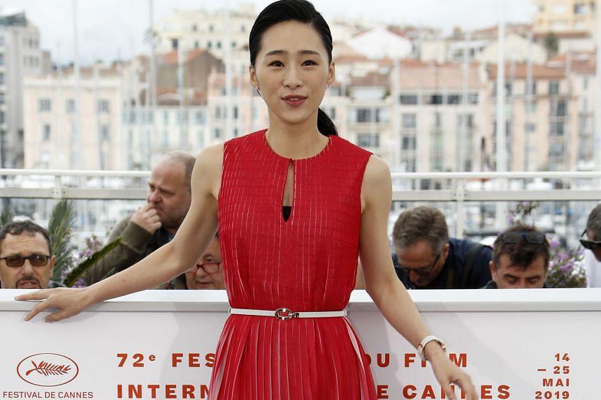 Wu Ke-xi, who wrote and stars in Nina Wu, at the 72nd Cannes film festival.