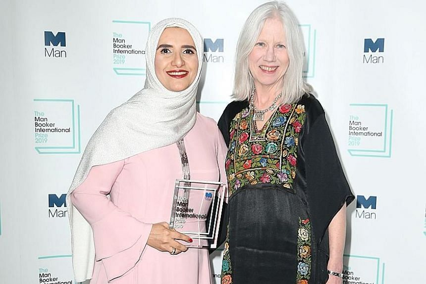 Celestial Bodies' author Jokha Alharthi (left) and translator Marilyn Booth will share the $87,400 Man Booker International Prize award.