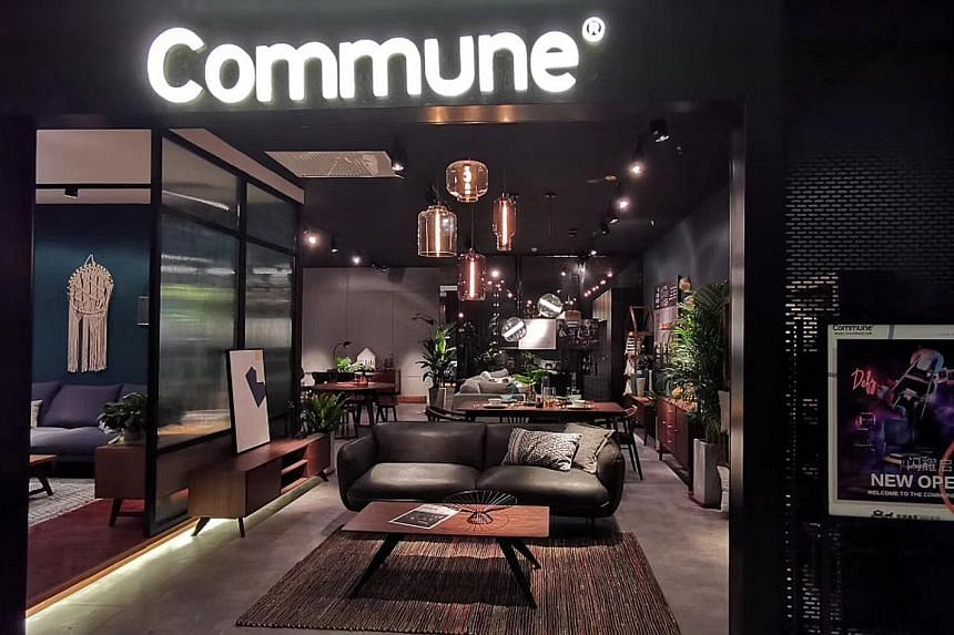 A Commune outlet in Chongqing, one of more than 50 stores the furniture retailer has in China. Commune Lifestyle, the retail arm of Singapore furniture manufacturer Koda, will continue with its presence in China, but is also focusing on opening store