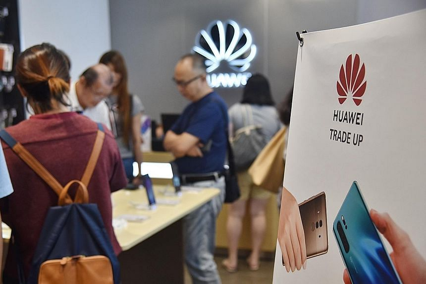 Most shops visited by The Straits Times yesterday said they still accept used Huawei phones, but the prices they are offering have fallen by $200 to $300 since Google suspended business with the firm.