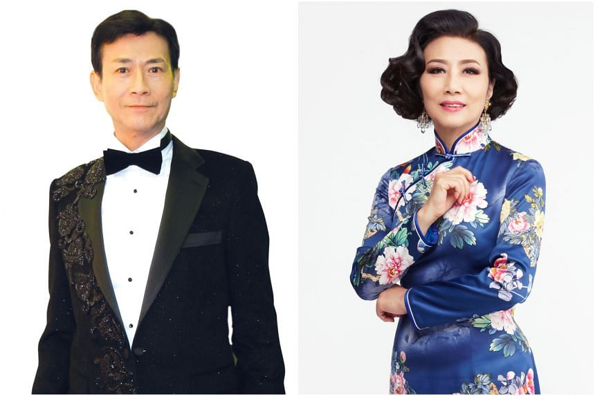 Actor-singers Adam Cheng (left) and Liza Wang are stalwarts of the Hong Kong entertainment scene and have collaborated since the 1970s in wuxia series.