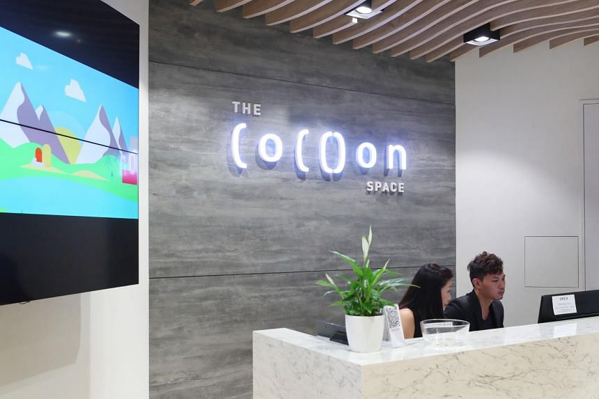 The Cocoon Space takes up the top two levels of Design Orchard.