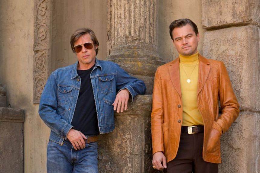 Brad Pitt (left) and Leonardo DiCaprio (right) finally team up in Quentin Tarantino's Once Upon A Time In Hollywood, which screened to rapturous reviews at the Cannes film festival on Tuesday.