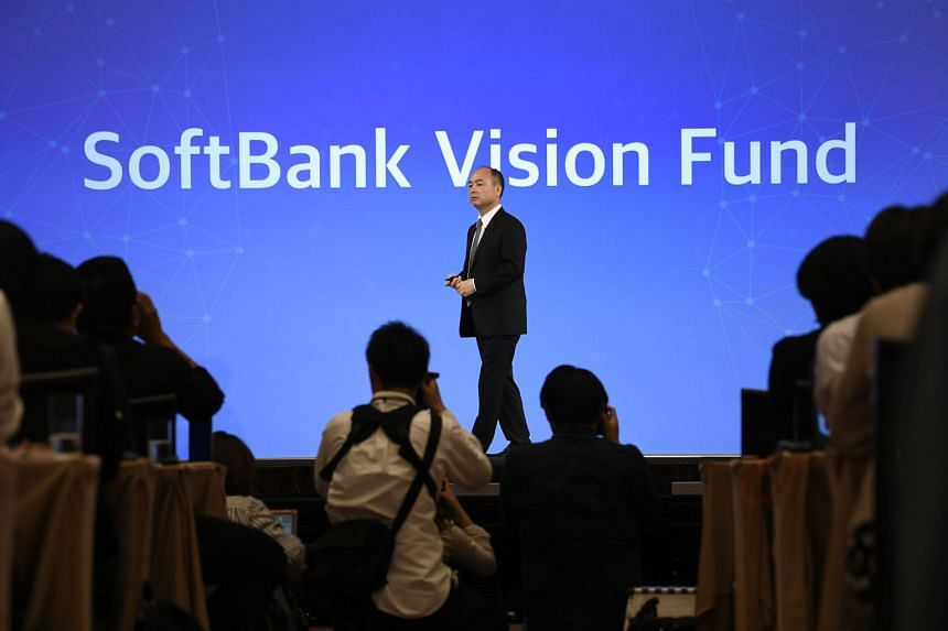 SoftBank Group chief executive Masayoshi Son at a news conference in Tokyo earlier this month. He says that what unifies the disparate investments made by SoftBank's US$100 billion Vision Fund is the way the companies use artificial intelligence.