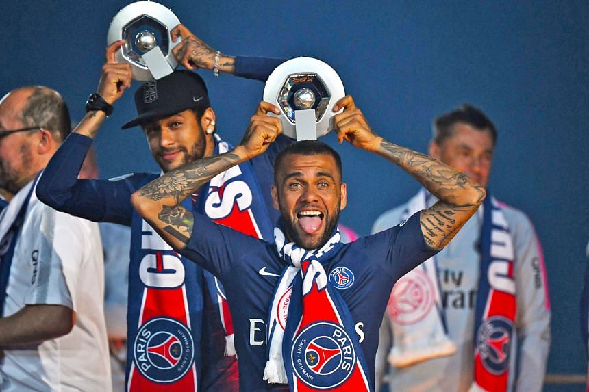 French champions Paris Saint-Germain, with stars like Brazilians Dani Alves and Neymar, are backed by the state of Qatar.