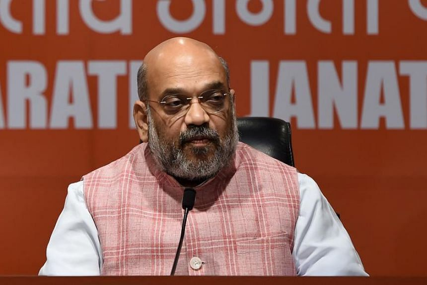 Prime Minister Narendra Modi's powerful right hand man, Mr Amit Shah (above), could reap his reward as a potential home minister, an analyst and a party official said.