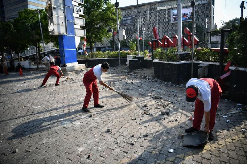 Indonesia's capital been gripped by bigger demonstrations in the past, but the level of violence in this week's clashes has not been seen in years.