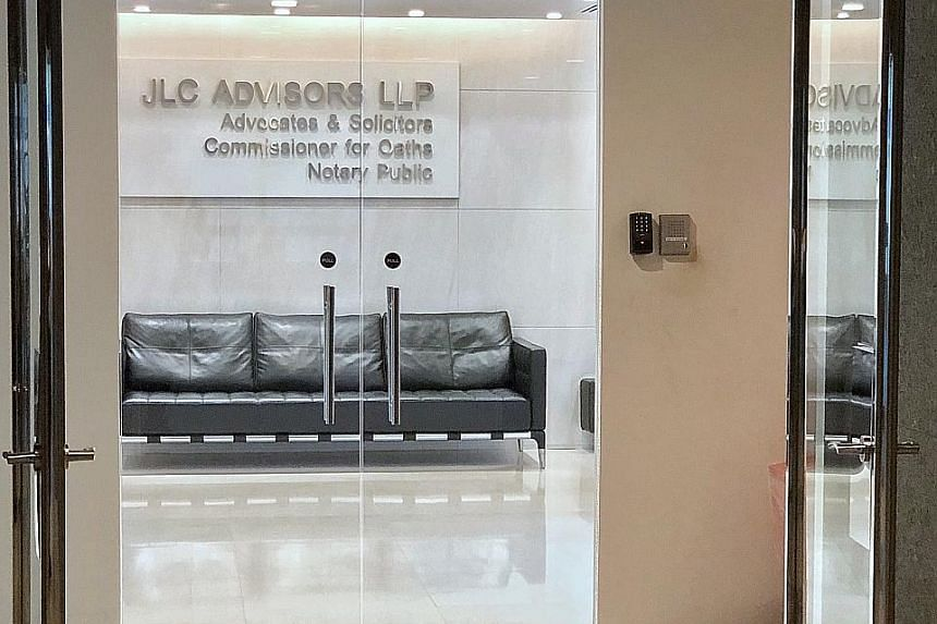 """JLC Advisors said it has reasons to believe that the payout was made on the instructions of its managing partner Jeffrey Ong Su Aun, who has been uncontactable, and """"might have been unauthorised""""."""