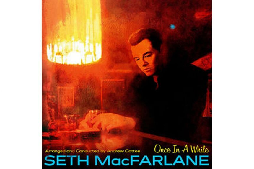 Actor-writer-director Seth MacFarlane possesses a warmly velvety timbre.