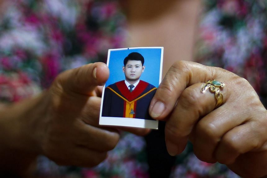 Thai dissident Siam Theerawut, who was arrested in Vietnam and handed over to Thai authorities.