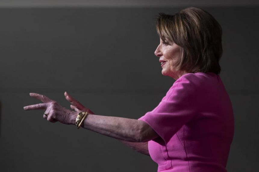 """The Democrat's congressional leader Nancy Pelosi said the president himself is """"disappointed"""" that Democrats have not launched formal steps to remove him from office because such a move could fire up his conservative base and help his re-election eff"""
