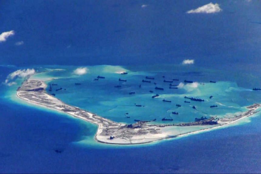 In the South China Sea, China has reclaimed and built on large areas of land, converting low lying rock and coral formations to habitable islands, and in some cases deploying military assets.