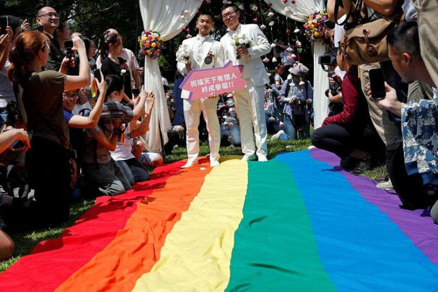 Taiwan made history last week when it became the first place in Asia to legalise gay marriage.
