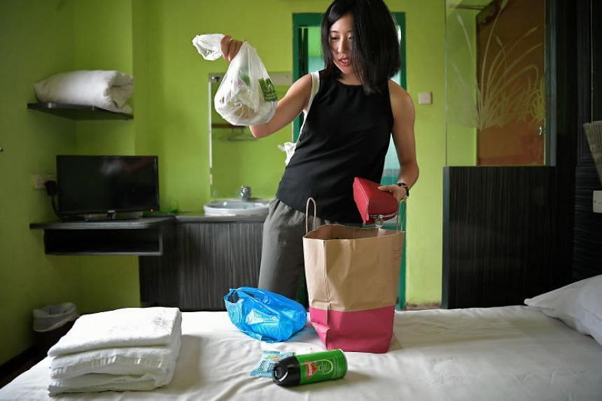 Reporter Clara Lock spends a night at one of the worst hotels in Singapore based on Tripadvisor ratings - The Golden Dragon in Geylang.