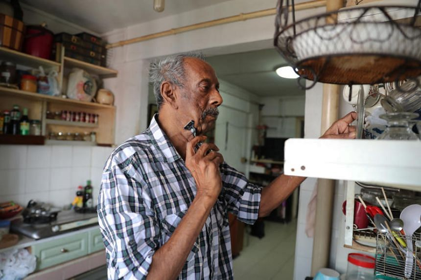 Mr Saravanamuthu Marimuthu is one of a growing group of seniors in Singapore who live alone and are suffering from dementia.