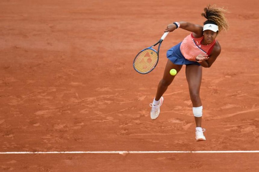 World number one Naomi Osaka has yet to claim a title on clay.