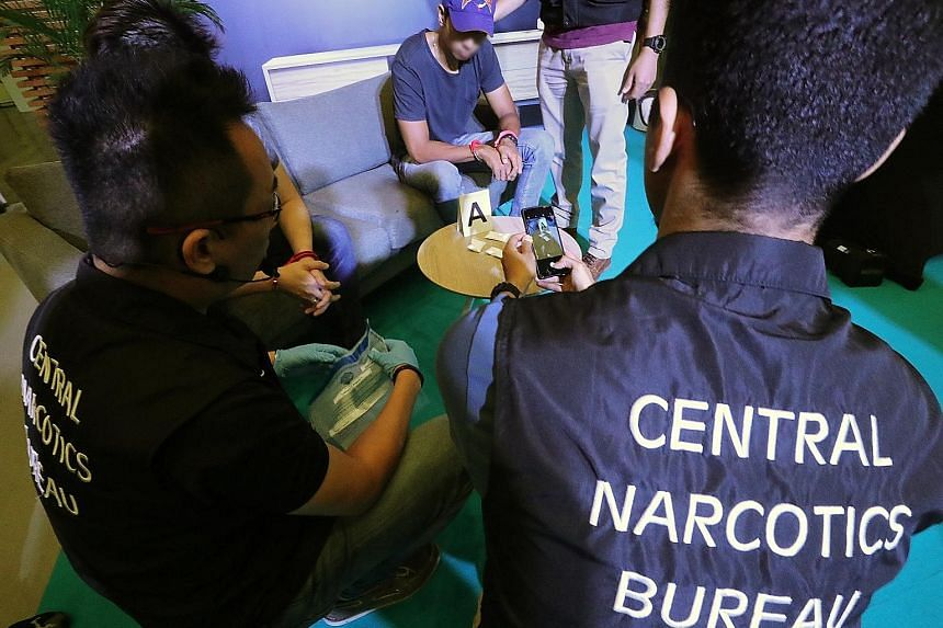 With the mobile diary, CNB officers are able to take statements and conduct screening on the ground, among other things. The Integrated Drug Enforcement Administrative System II lets officers check-in multiple case exhibits at one go, increasing effi