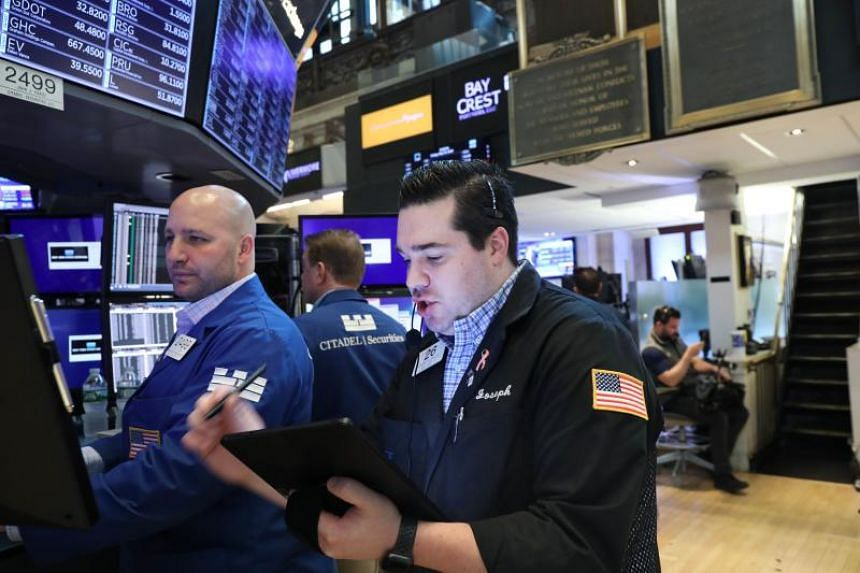 The Dow Jones Industrial Average climbed 0.4 per cent to 25,585.69. But this was not enough to prevent the index from falling for the fifth straight week, its longest such streak since 2011.