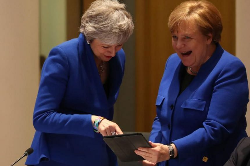 """Chancellor Angela Merkel said that she """"of course respects the decision"""" of British Prime Minister Theresa May, adding that they had always worked well together."""