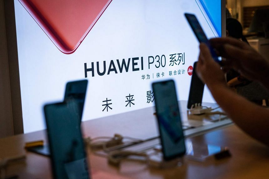 Huawei handsets are already drawing fewer clicks from online shoppers since the United States blacklisted the company, according to PriceSpy, a product comparison site.