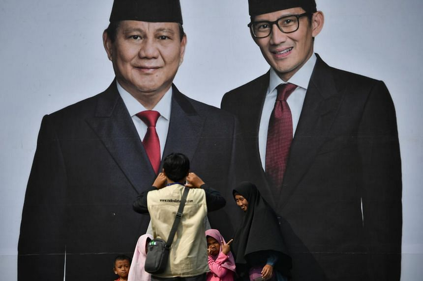 The final vote tally released by the General Elections Commission on Tuesday indicated that President Joko Widodo won the election by 55.5 per cent to presidential hopeful Prabowo Subianto's 44.5 per cent.