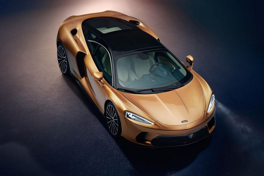 McLaren will unveil its new GT (above) in Singapore next week.