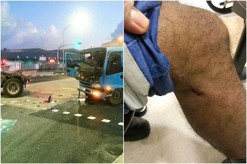 The lorry driver and 27 passengers were taken to the National University Hospital and Ng Teng Fong General Hospital.