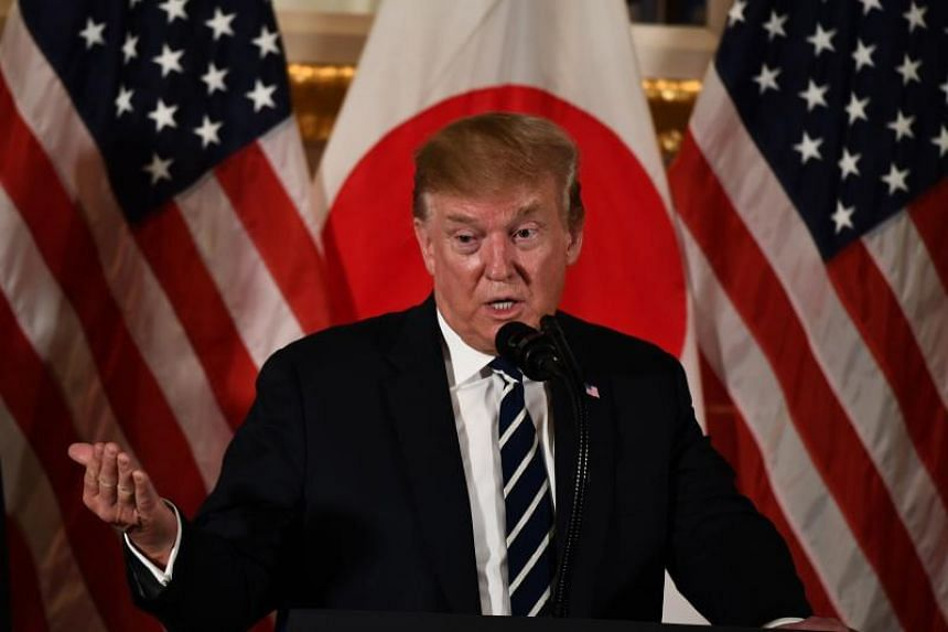 US President Donald Trump told a group of top business executives in Tokyo that there had never been a better time to invest in the US.