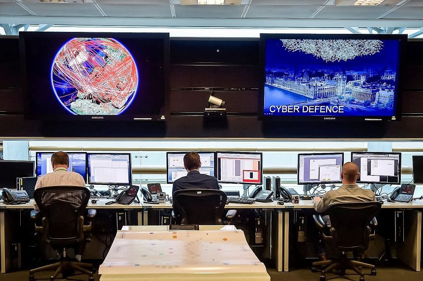 The 24-hour Operations Room inside GCHQ, Britain's biggest intelligence service, in Cheltenham. As the nature of intelligence work becomes increasingly digital, GCHQ is no longer a passive collector and distributor of intelligence, but is transformin