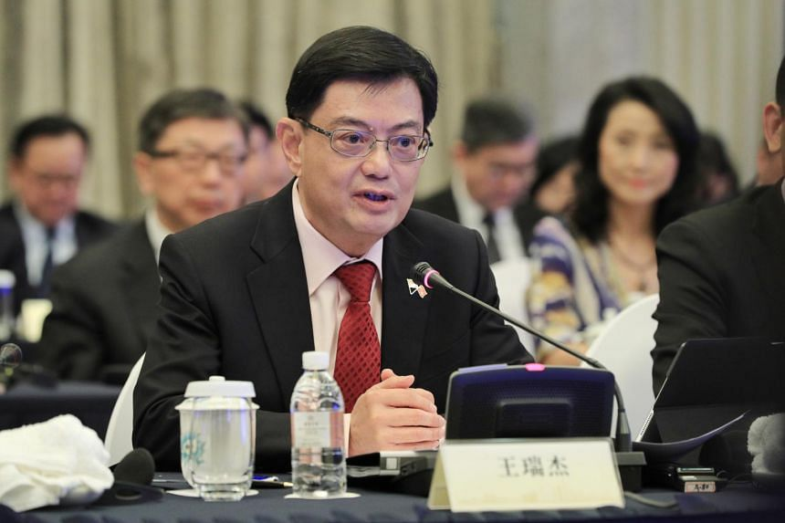 DPM Heng Swee Keat said Singapore hopes both US and China will be able to find areas of cooperation amidst their competition.