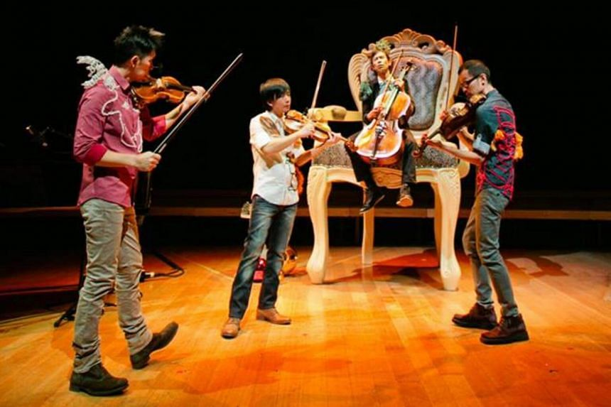 The latest T'ang Quartet concert had neither gimmicks nor witty catchphrases, just solid and serious music.