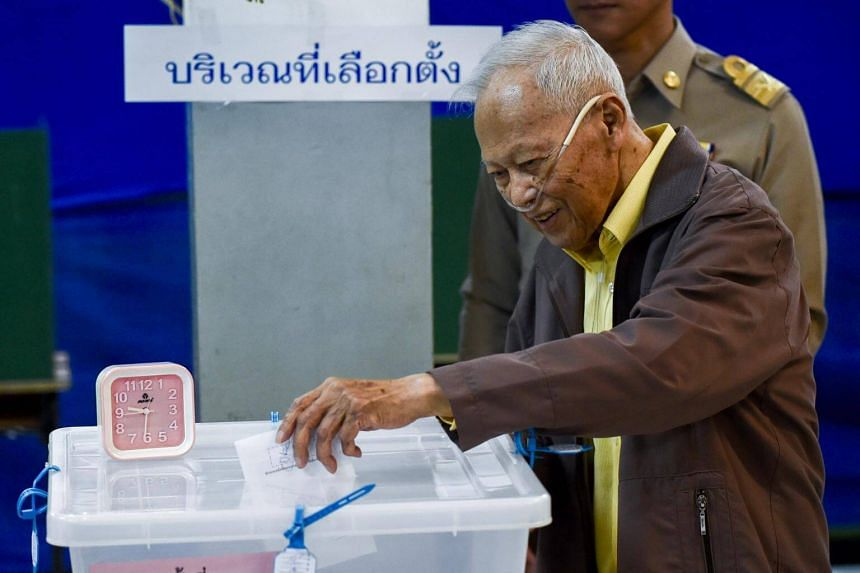 General Prem Prem Tinsulanonda died of heart failure at Phra Mongkut Hospital according to his aides, reported Thai media.