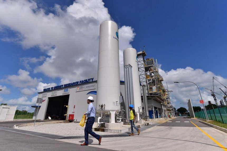 The new incineration facility in Tuas South will turn all the rubbish collected from Nanyang Technological University (NTU) into valuable resources like electricity and construction materials.