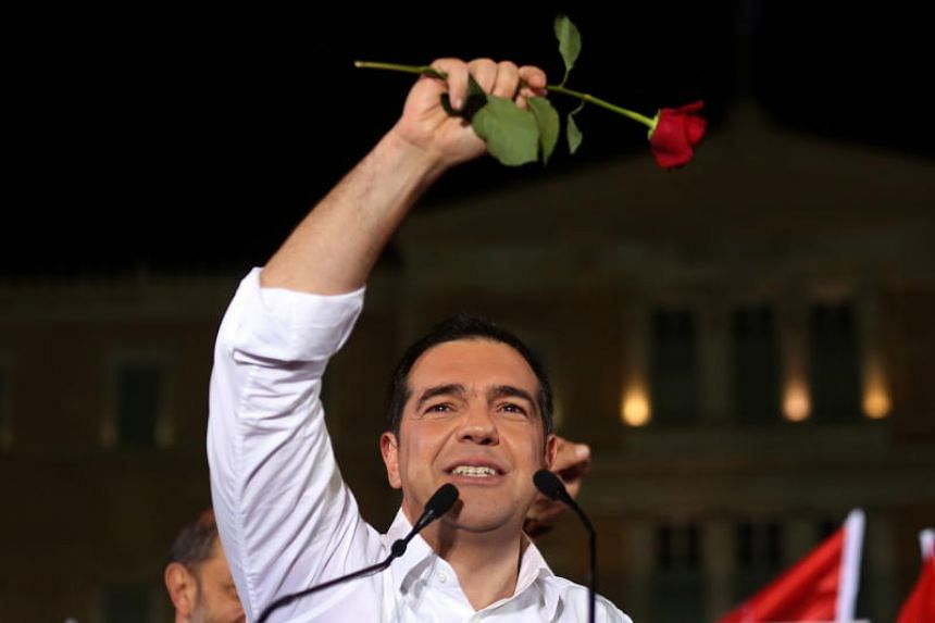 In a speech Greek Prime Minister Alexis Tsipras said he would meet with the Greek President to discuss calling elections immediately after the conclusion of a second round of local Greek elections scheduled for next week.
