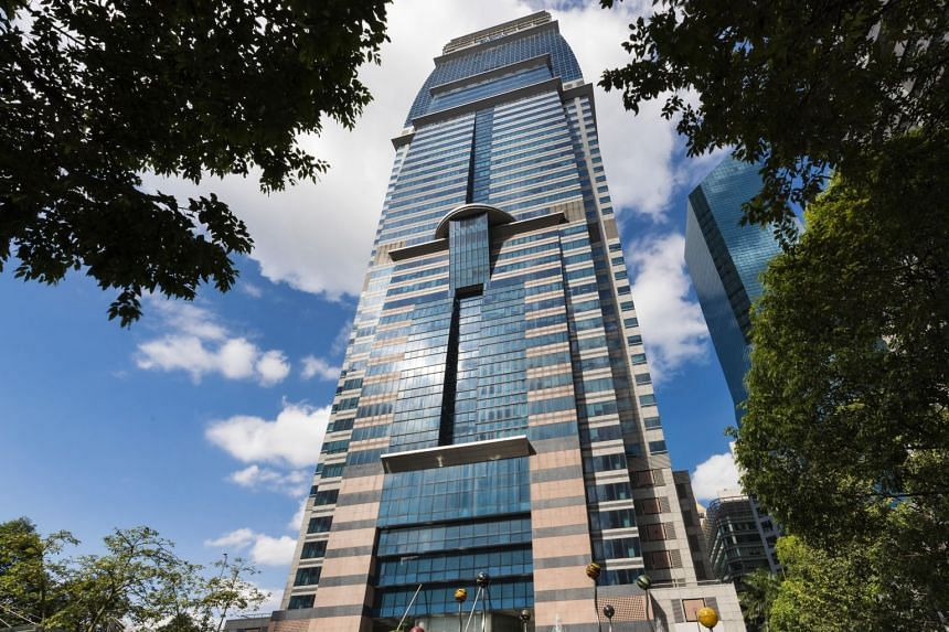 A view of Capitol Tower. CapitaLand's acquisition of Ascendas-Singbridge is on track for completion in end June 2019.
