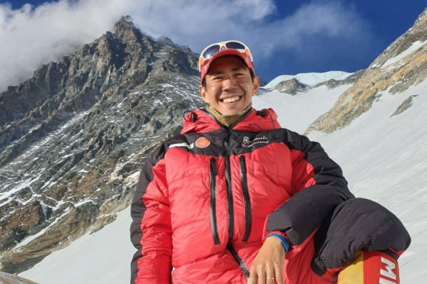 Mr Jeremy Tong, the co-founder of an adventure company, successfully scaled Mount Everest last week on his second attempt.