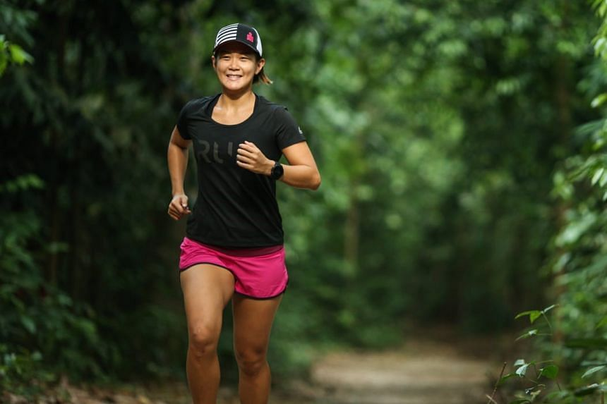 Cheryl Tay will be taking part in a 25km trail running event in France, on challenging volcanic terrain at 1,000m elevation.