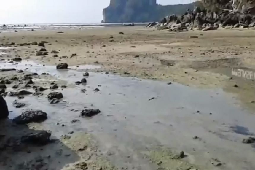 In mid-May 2019, photos and videos of black-coloured wastewater were widely circulated on social media, raising concern over the environment of the famous beach town visited by thousands of tourists each day.