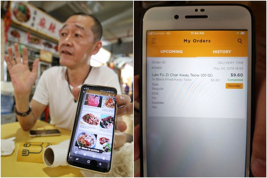 Lao Fu Zi Fried Kway Teow stall owner Tan Lee Seng said he learnt of the incident after a customer complained to him that the standard of his char kway teow had dropped.