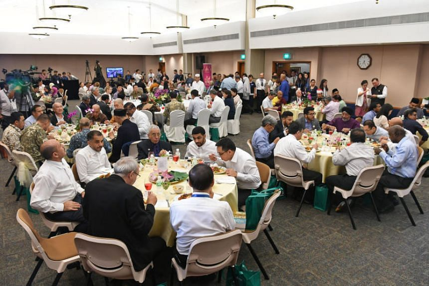 Congregants of The Church of Jesus Christ of Latter-Day Saints and members of Jamiyah Singapore (Muslim Missionary Society Singapore) came together for the iftar on May 27, 2019.