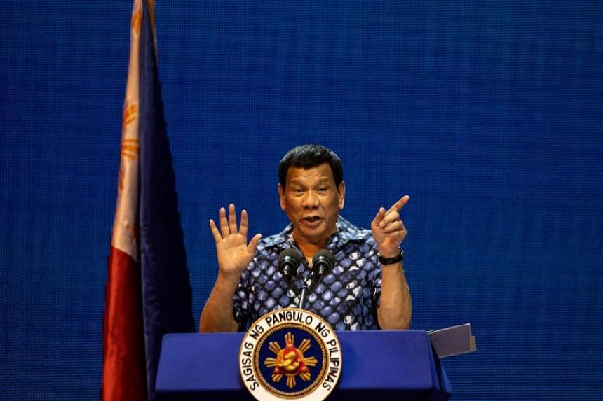 Philippine President Rodrigo Duterte has asked his son, Paolo, to let him know three days in advance of announcing his bid for the speakership of the House so he can tender his resignation.